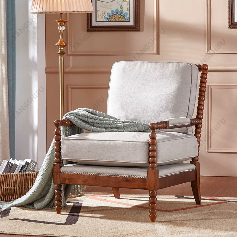 TSF-257-Beige Accent chairs