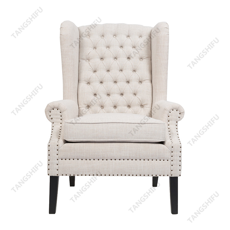 TSF-52390-Beige Accent chairs