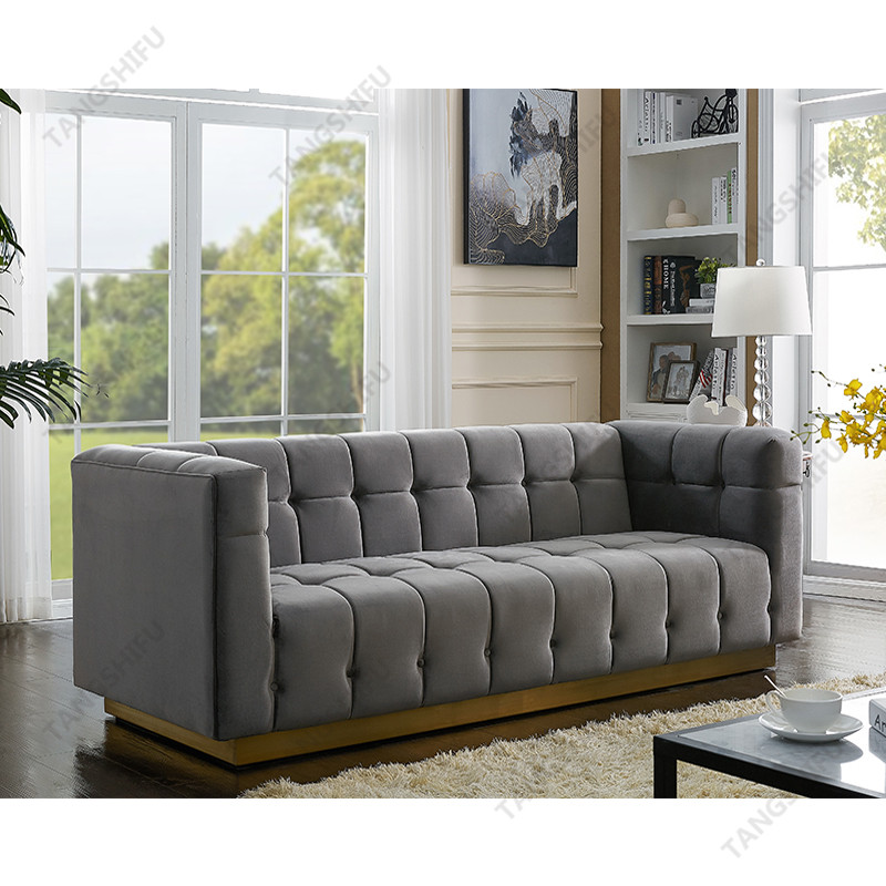 TSF-5506-GreyGold-SF Living room furniture