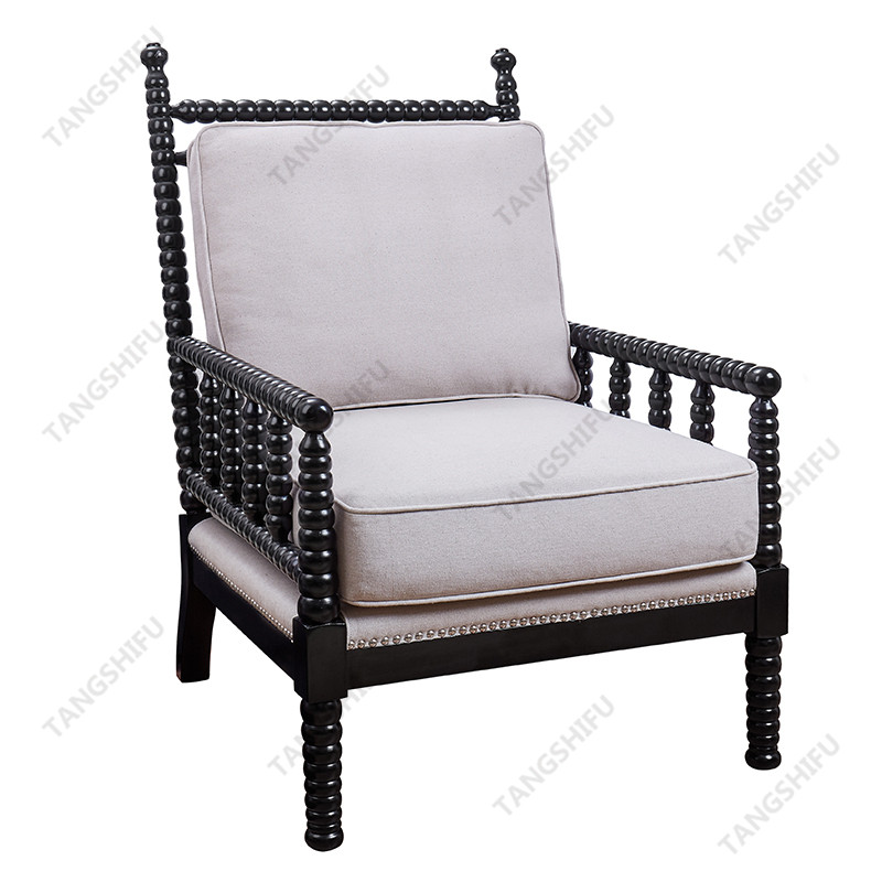 To make exqusite arm chair look like old-style antique furniture