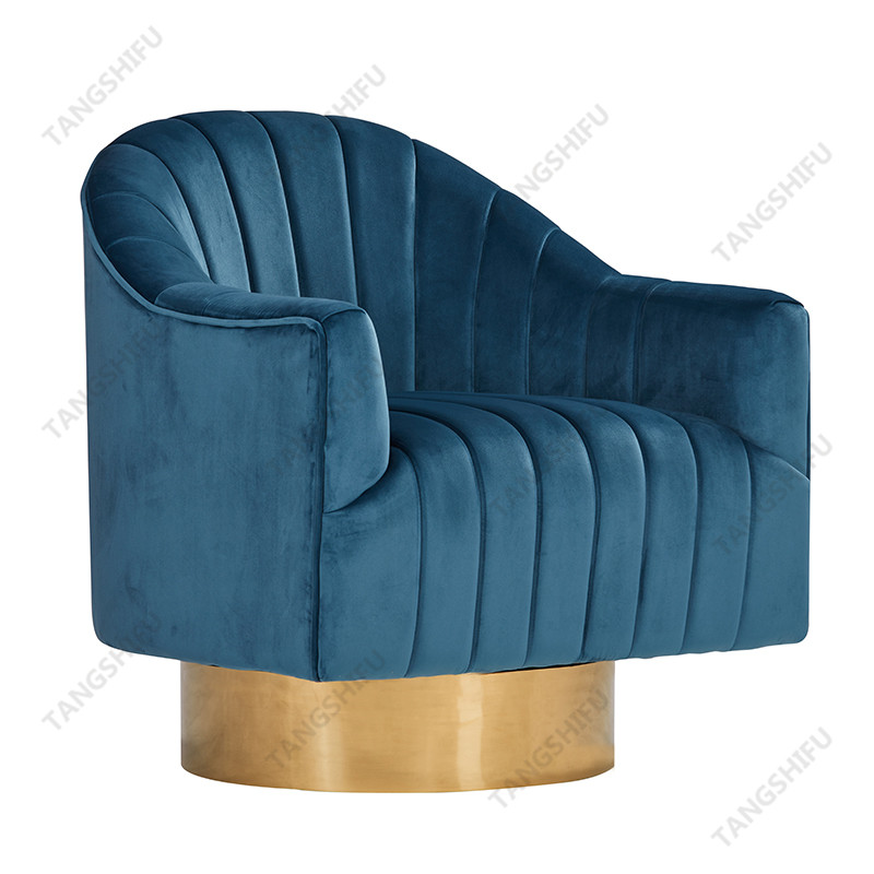 TSF-6629-Bule Accent chairs