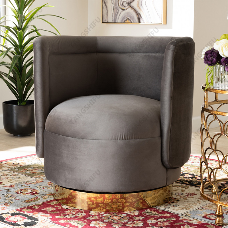 TSF-6653-Slate Grey Accent chairs