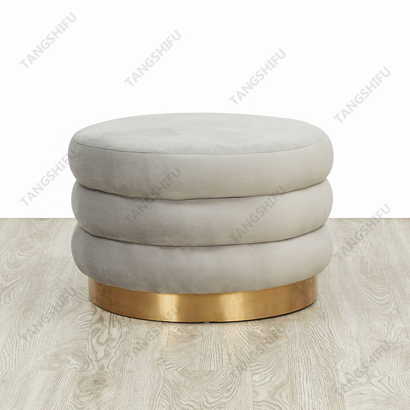 TSF-6696-CC-57 The wholesale leisure stools are used to decorate the room at home. The lordly stools is round base furniture with beautiful shape.  TSF-6696-CC-57,It is widely used furniture produced by Zhejiang Tangshifu Furniture Co.,Ltd.  Zhejiang Tangshifu Furniture Co.,Ltd is a well-known furniture manufacturer in China. TSf Furniture has established friendly cooperative relations with many international companies.