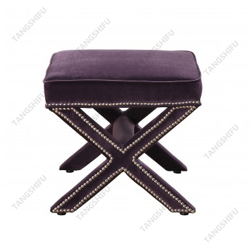 TSF-67213-Purple Velvet Living room furniture