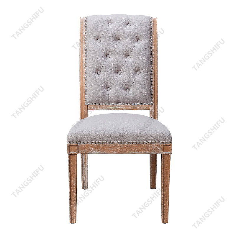 TSF-7711-Beige Dining Chair Dining Chairs