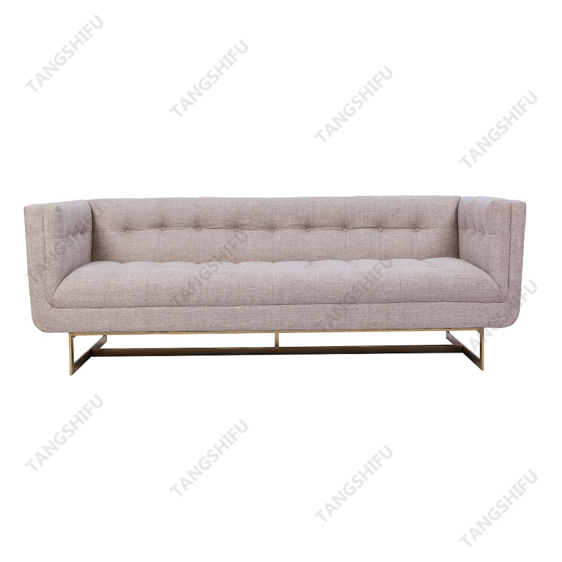 TSF-9905M-Brass Golden Stainess Steel Living room furniture