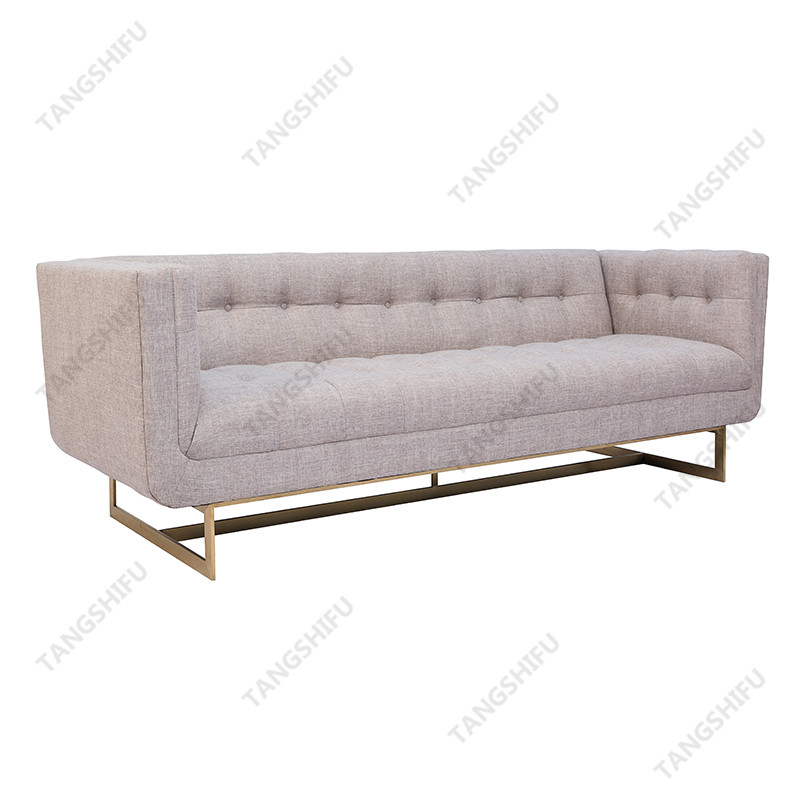 TSF-9905M The creative metal sofas are used to decorate the room at home. The domestic metal couch is household products with very nice shape.