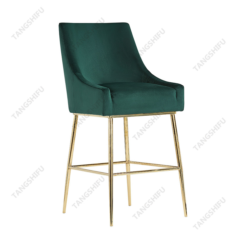 TSF-BS5512 The ornamental bar stool can be used to decorate living room, dining room or bedroom. These ounter stools are beautiful and practical furniture.  TSF-BS5512 is a high-end furniture produced by Zhejiang Tangshifu Furniture Co.,Ltd.  Zhejiang Tangshifu Furniture Co.,Ltd is a well-known furniture manufacturer in ChinaTSF Furniture has a good reputation in the market.