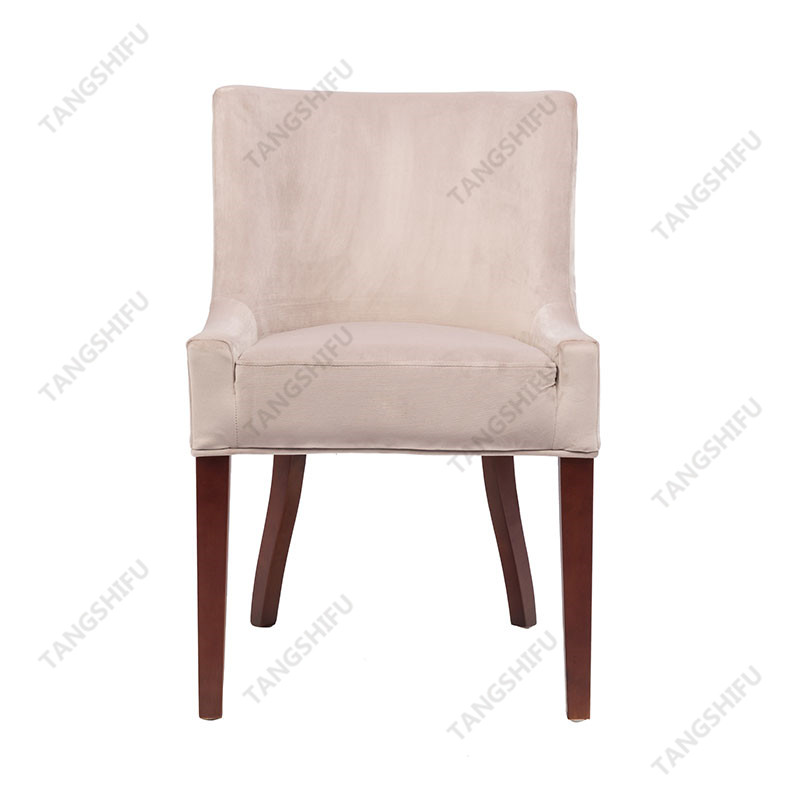 TSF-D035-Grey Velvet Dining Chairs