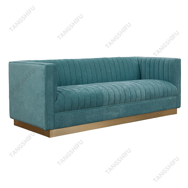 TSF-BAX6611 This exquisite leisure sofa is used to decorate the room at home. The selected household couch is easy-to-use furniture with beautiful surface.