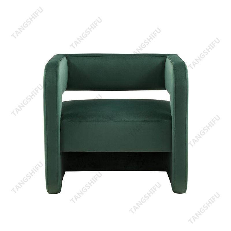 TSF-6651A-A Dark Green Velvet Accent chairs